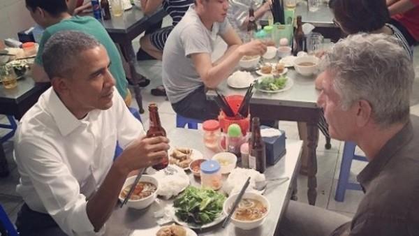 Obama Bourdain Hanoi