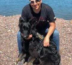 Sheldon Ewers, U.S. Navy Veteran and his Amazing Service Dog Roy