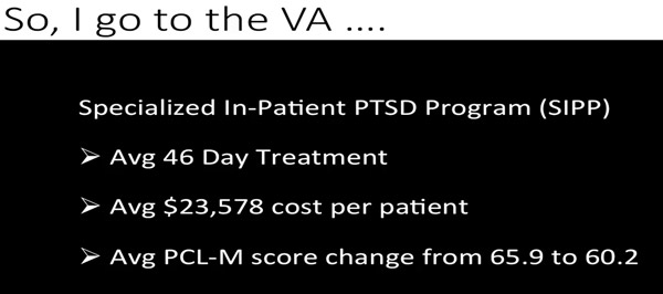 Ben Richard's PTSD VA Study
