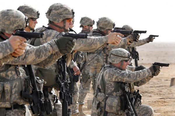Military Handgun M-9 handguns