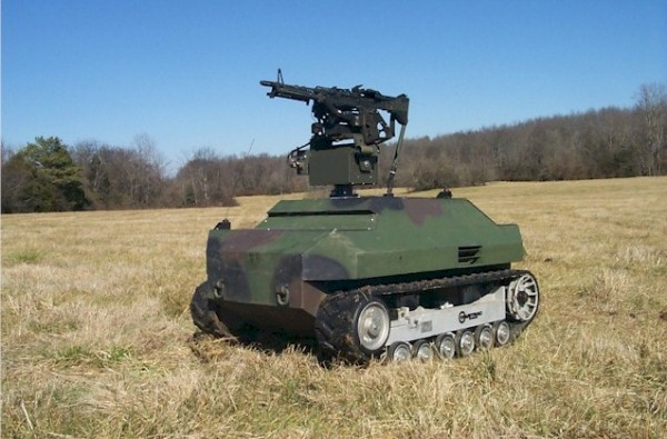 Unmanned US Military Vehicle