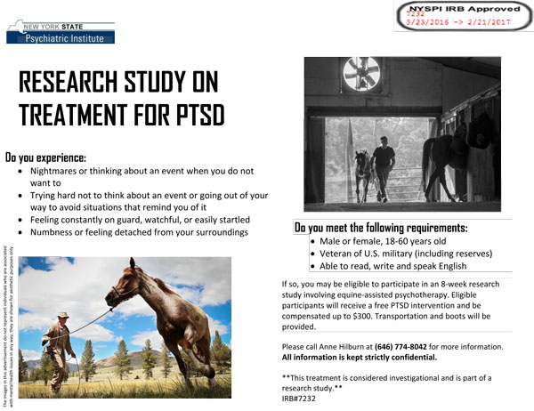 treatments of combat veterans with ptsd Military & military families posttraumatic stress disorder (ptsd) treatment for ptsd treatment, and cure of anxiety.
