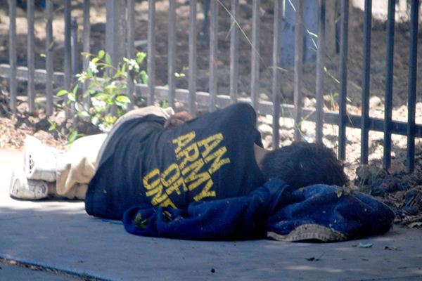 Homeless Veteran with PTSD