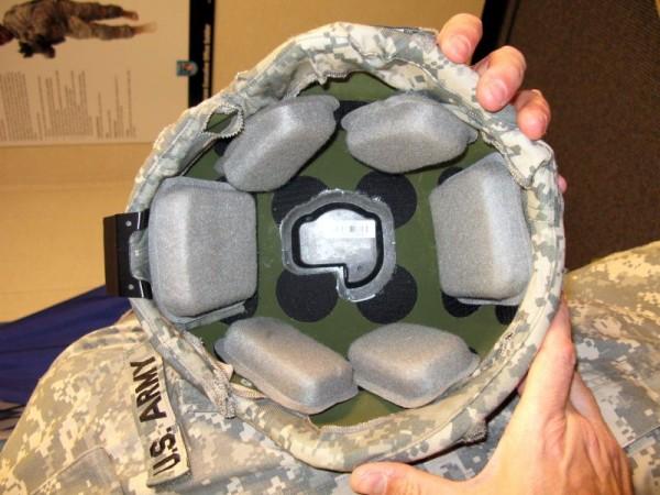 military helmet sensors