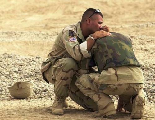 Veterans with PTSD