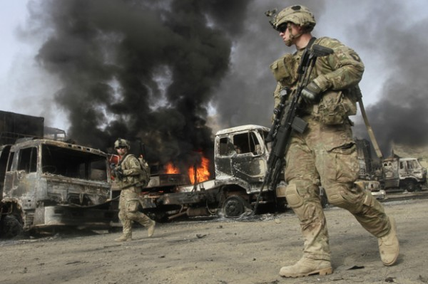 Veterans with PTSD - War in Afghanistan