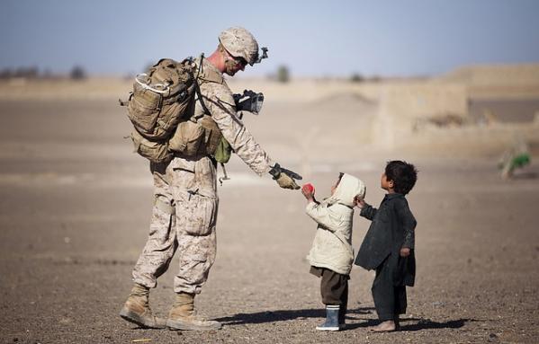 Warrior and Children